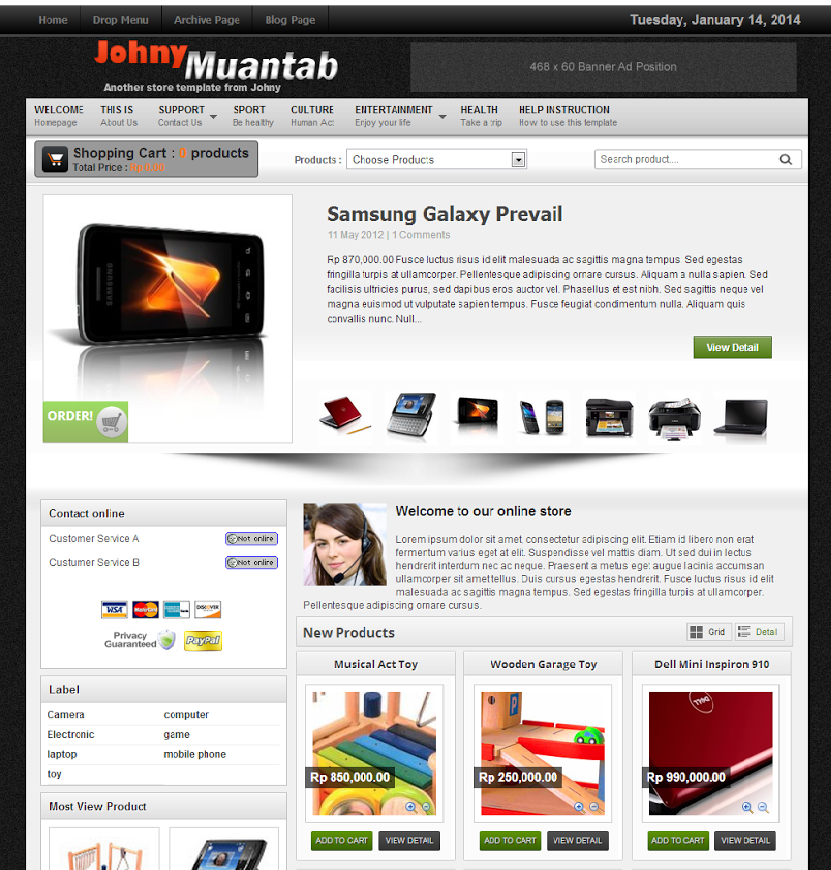 Share Templates Shop Johny Muantab Blogspot
