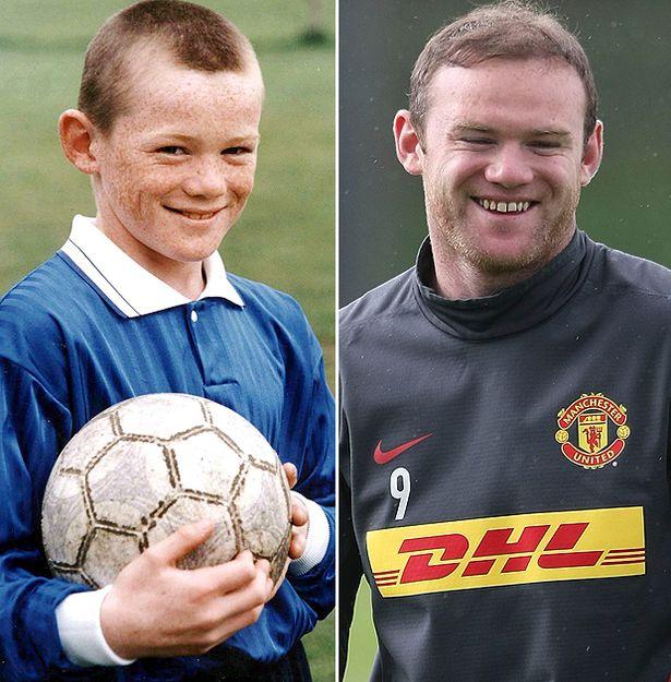 Wayne Rooney 10 Years Old