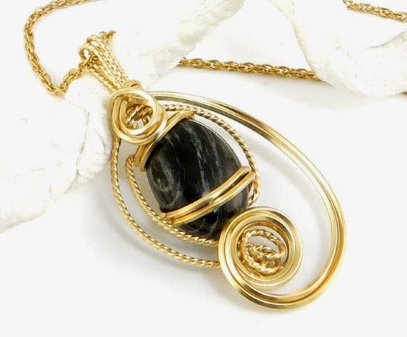 https://www.etsy.com/nz/listing/170096480/black-zebra-jasper-gold-pendant-necklace