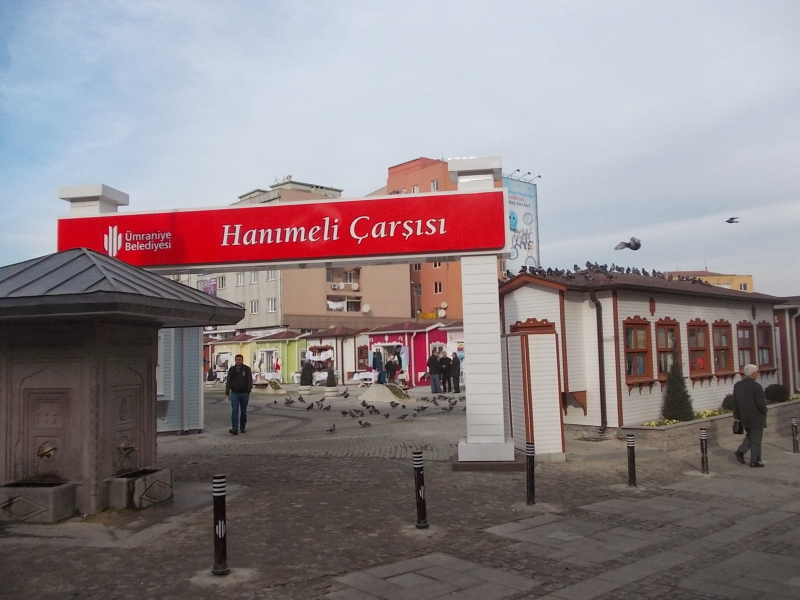 Ümraniye Belediyesi Hanımeli Çarşısı Hizmete Açıldı