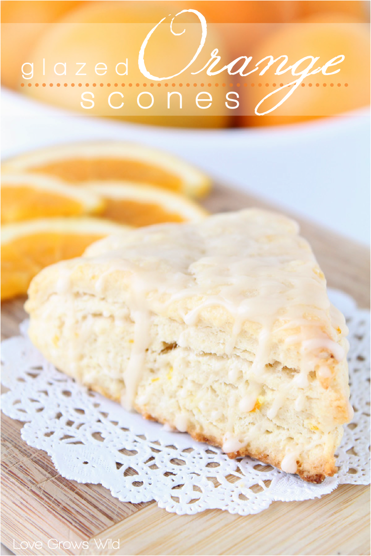glazed orange scones glazed orange scones glazed orange scones mini ...