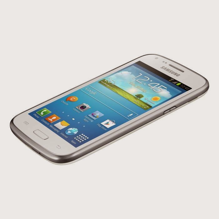 Samsung Galaxy Core Blanc comparatif de smartphone