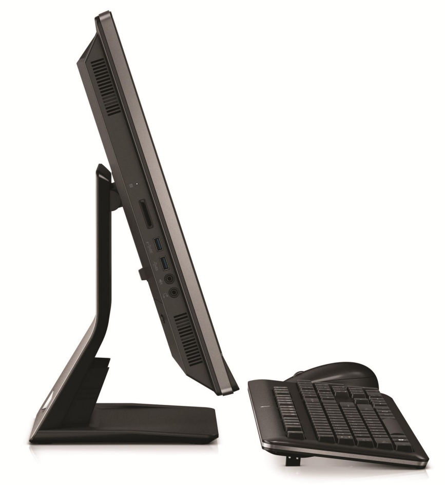 левая сторона моноблока HP EliteOne 800