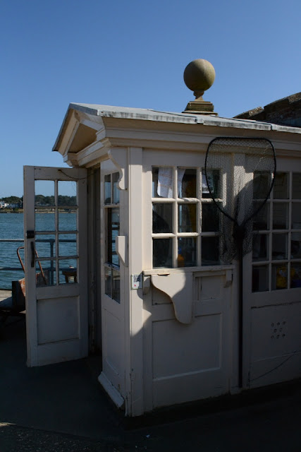 Beach hut Brownsea Island