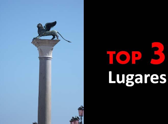 Top 3 - Lugares