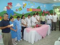 inauguracion Sala de ginecologia en Olanchito