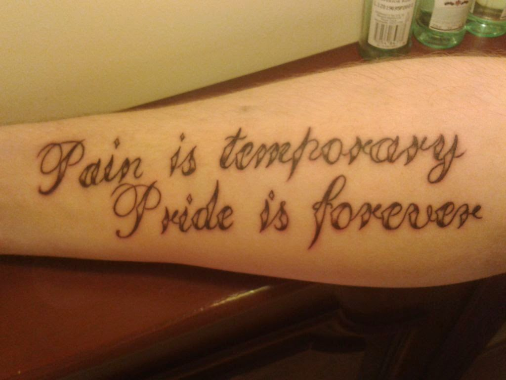 Tattoo Quotes About Life