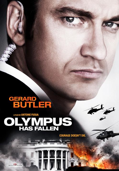 """Trailer de """"Olympus has fallen"""", Jungla de Cristal en la Casa Blanca  Olympus-Has-Fallen-poster"""