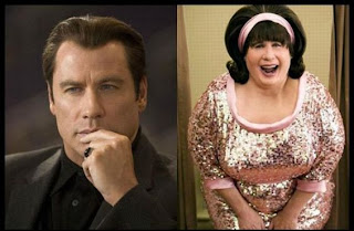 John Travolta v John Travolta made up in