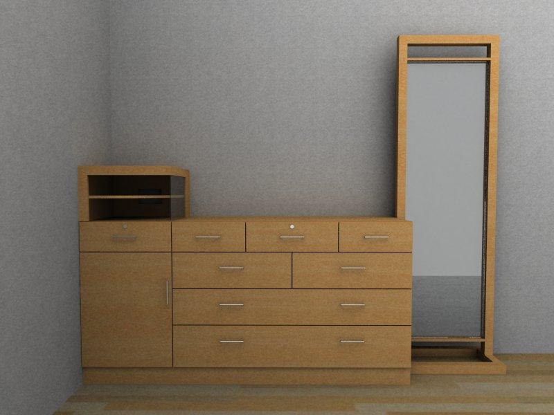 Quin d estudio de dise o muebles para residencia sra for Mueble para cristaleria