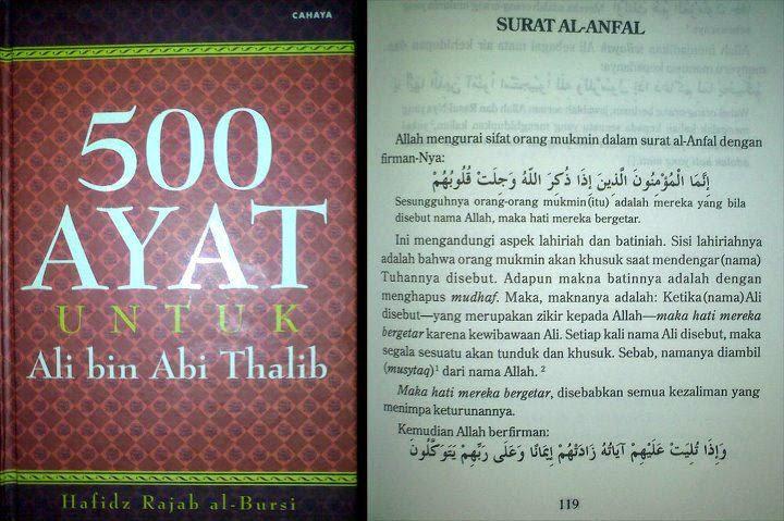 Nama Ali Disebut Maka Hati Bergetar