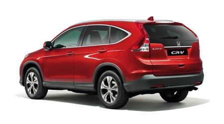 Spesifikasi Honda All New CRV 2013