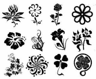 Diseños de flor tatuaje -3