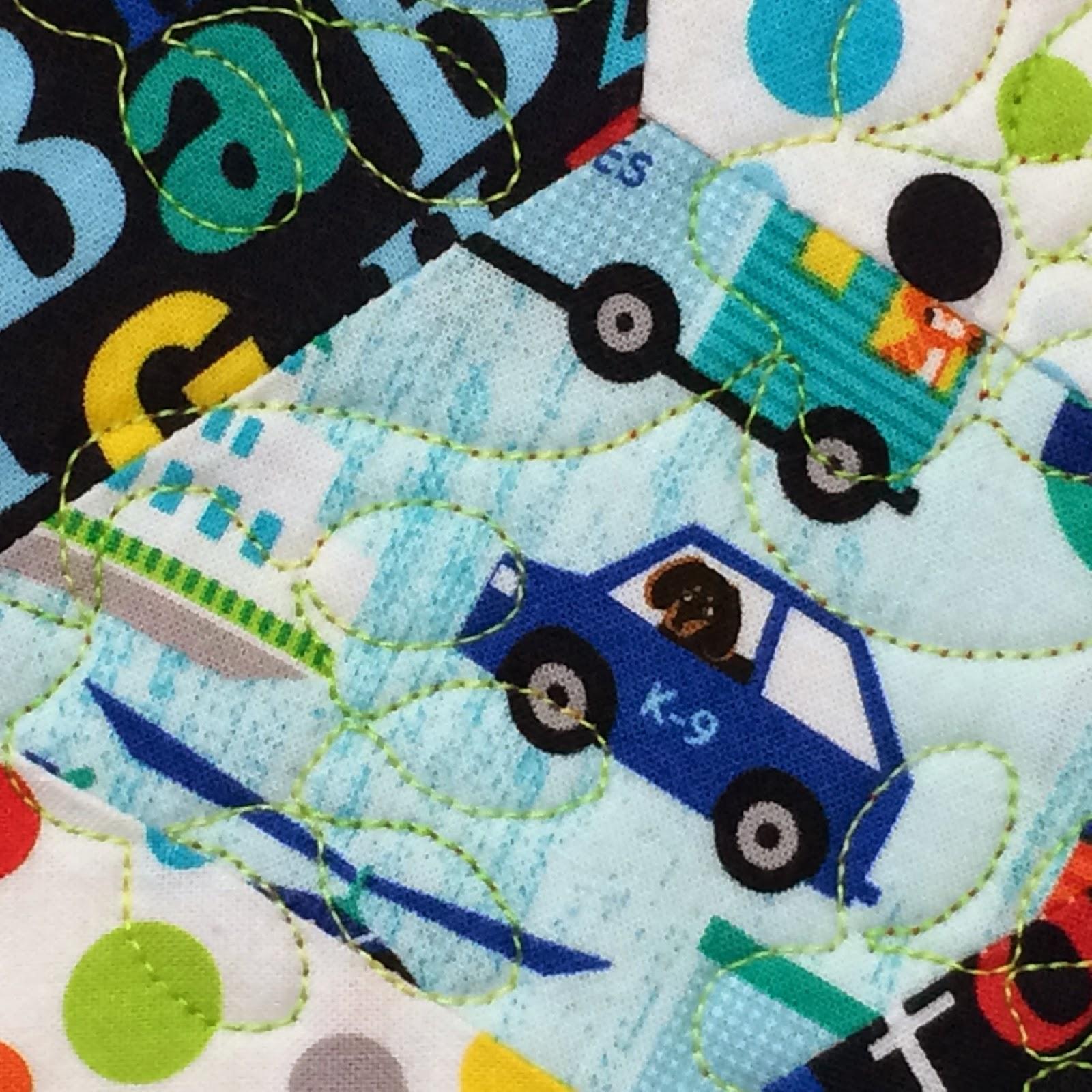 Sandy Donoho Baby Quilt