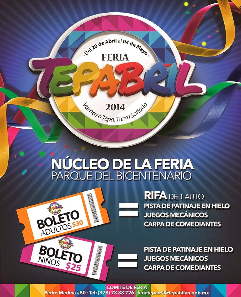 Programa Feria Tepabril 2014