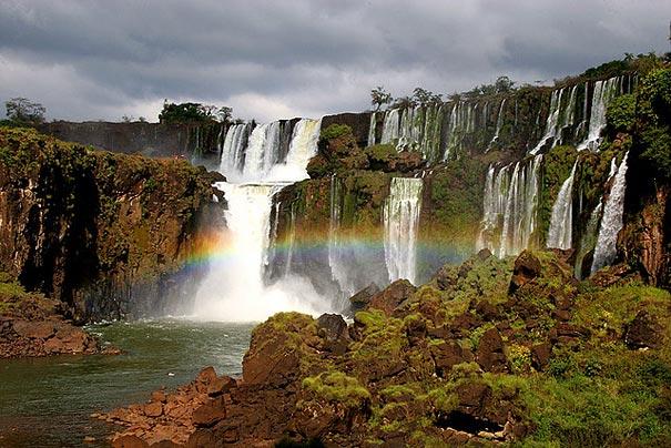 Iguazu Falls Argentina Brazil Beautiful Places