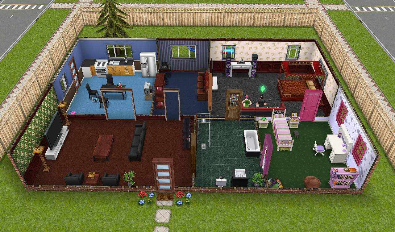 Stunning Player Designed Home Sims Freeplay Ideas - Decorating ...