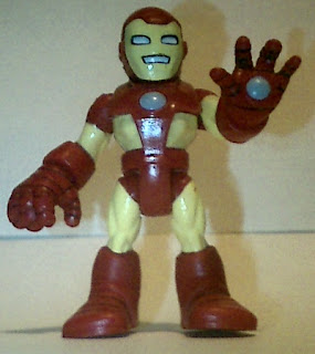 Front of Playskool 2010 Iron Man