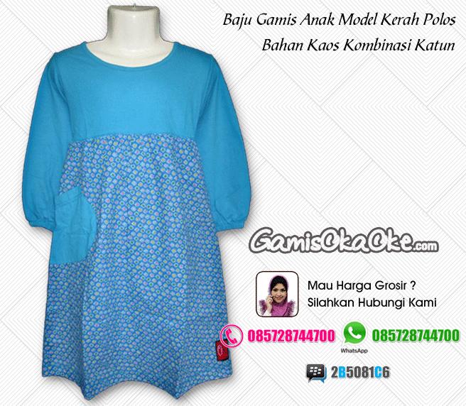 Grosir Baju Gamis Anak Modern Produksi Konveksi Oka Oke Solo