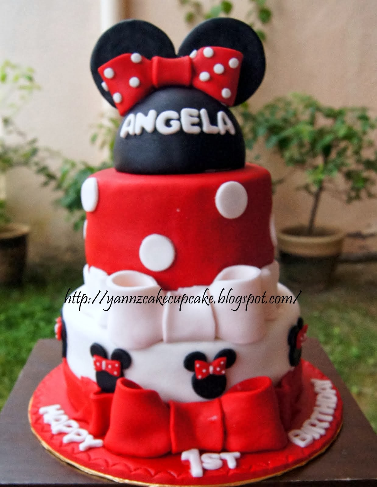 Birthday Tier Cake (Fondant)