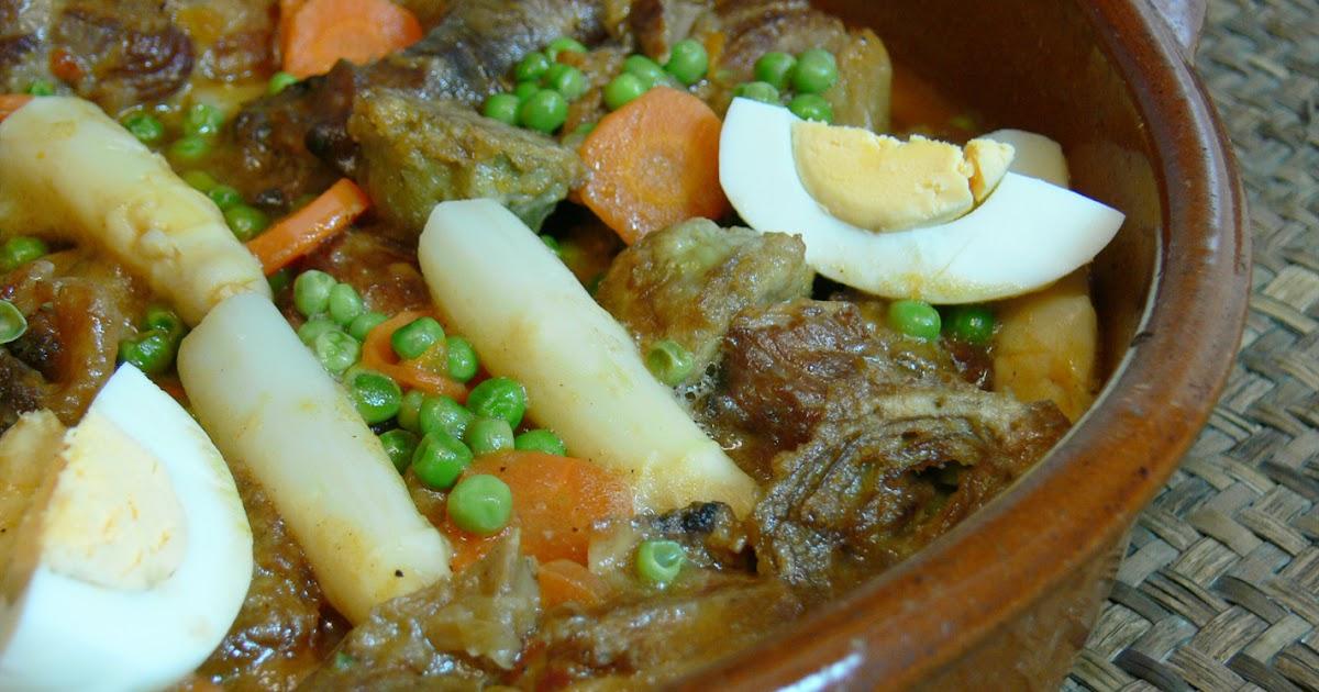 Cocinar para los amigos cordero en menestra - Hacer menestra de verduras ...