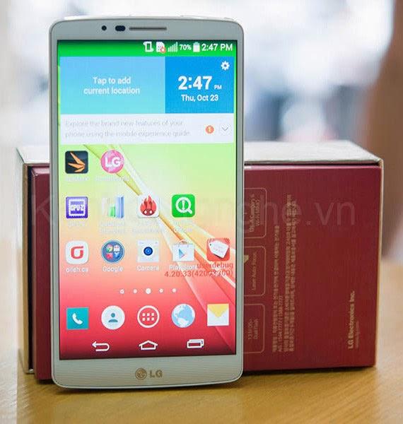 LG Liger F490L, HP Octa Core LG Terbaru Spesifikasi Memukau