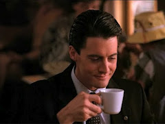 Agent Cooper loves coffee