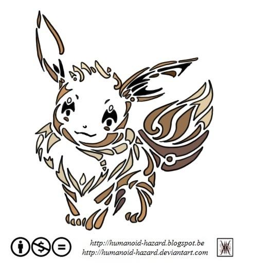 Humanoid Hazard Pokemon Challenge 133 Evoli
