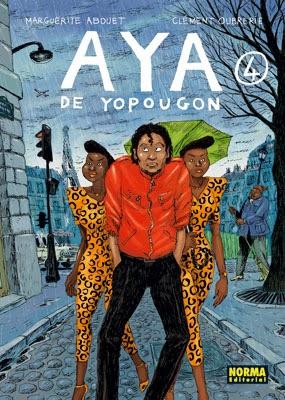 Aya de Yopougon 4,Marguerite Abouet, Clément Oubrerie,Norma Editorial  tienda de comics en México distrito federal, venta de comics en México df