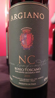 Label photo of 2011 Argiano 'NC' Non Confunditur