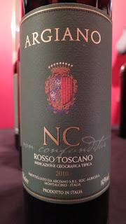 Label photo of 2011 Argiano 'NC' Non Confunditur