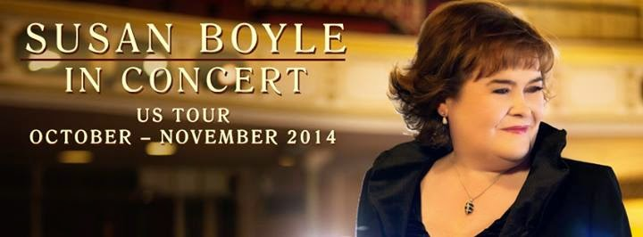 Susan Boyle in Concert in the USA Oct 8th, 2014