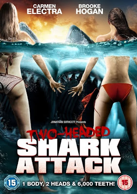 2 Headed Shark Attack Movie Poster