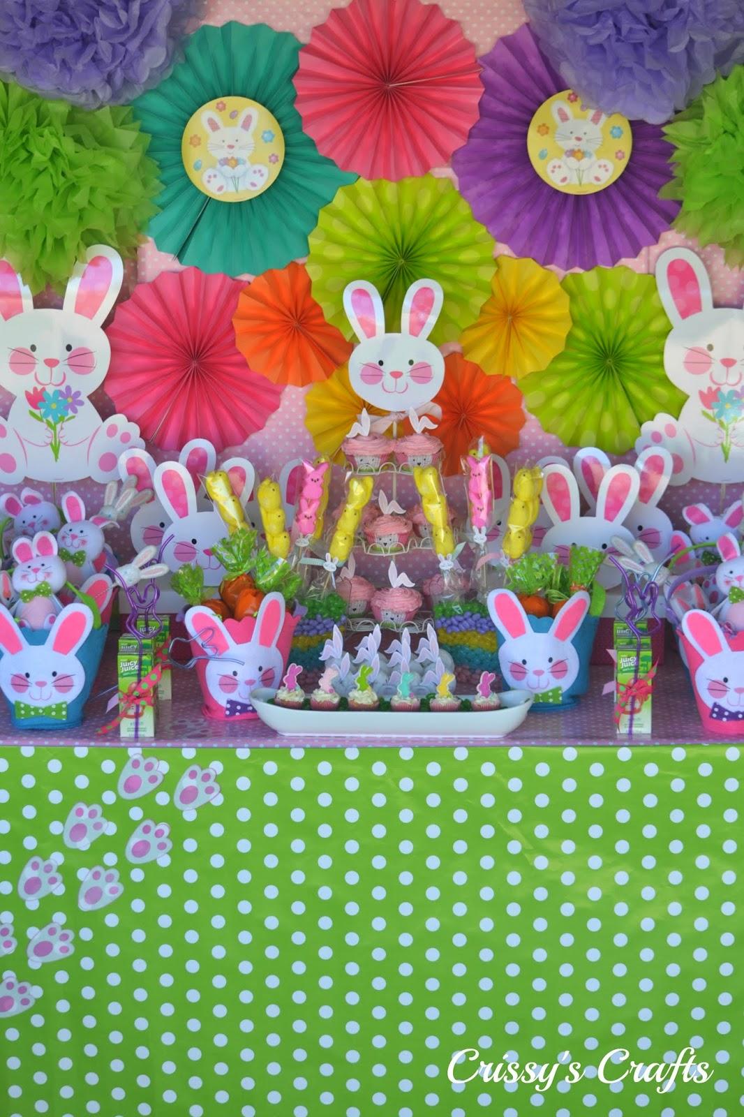Crissy 39 s crafts spring easter celebration ideas - Decoracion fiesta jardin ...