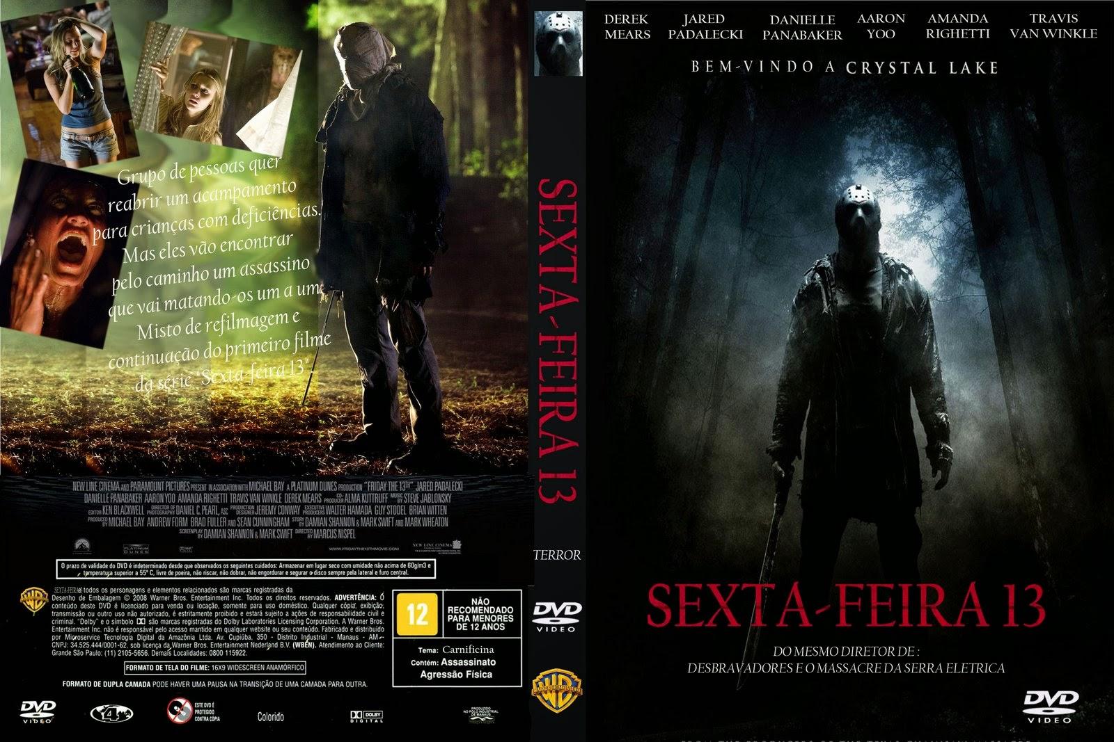 Sexta-Feira 13 2009 DVD Capa
