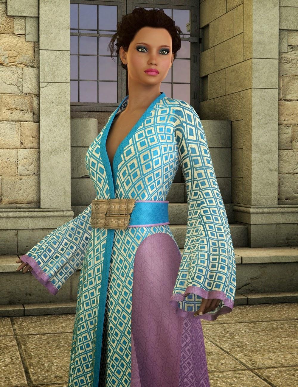 Orimono Elegance tissu Shader Presets