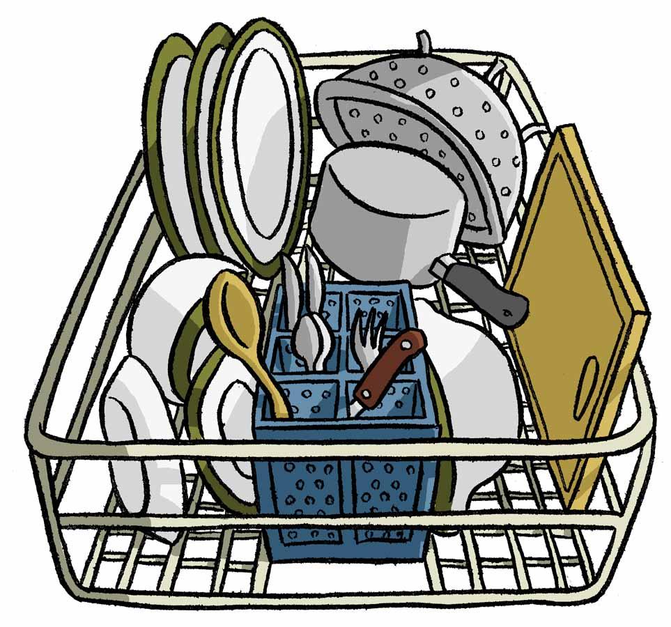 Dishwasher Clip Art ~ Loading dishwasher clip art notefolio