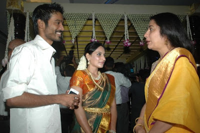 Director Selvaraghavan and Geethanjali Wedding Stills event pictures