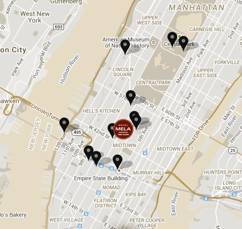 como llegar Hoteles en Nueva York – Hotel Mela