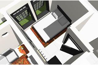 Gambar desain rumah kamar tamu
