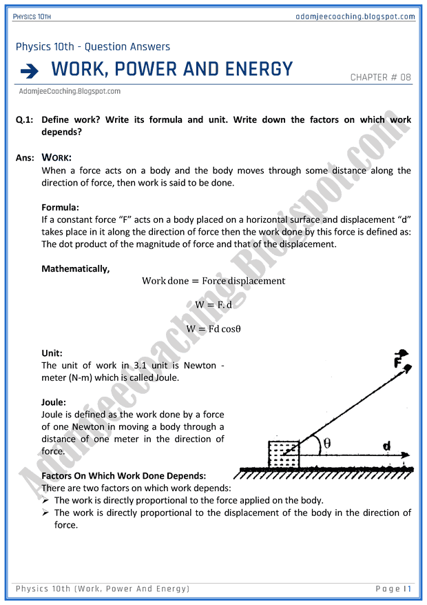 work-power-and-energy-question-answers-physics-10th