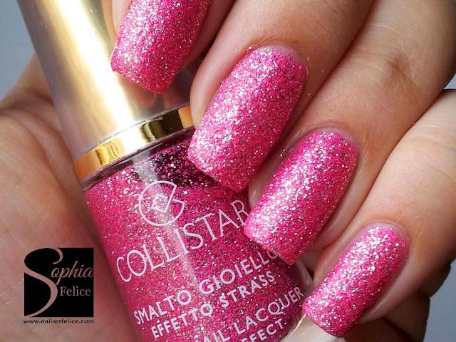 rosa strass n.639 - smalti collistar effetto strass 01