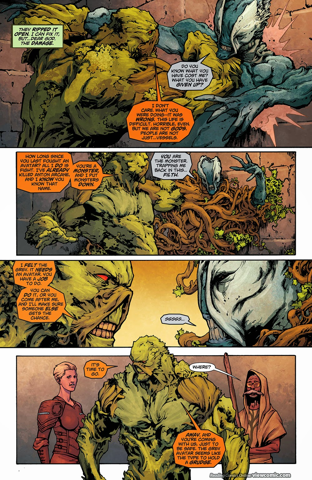 Swamp thing 031 2014 reading comics for The thing free online