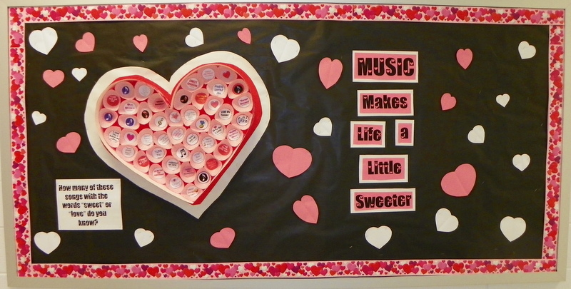 Valentineu0027s Day Bulletin Board For Any Classroom. Use Cupcake Papers To  Make A Giant,