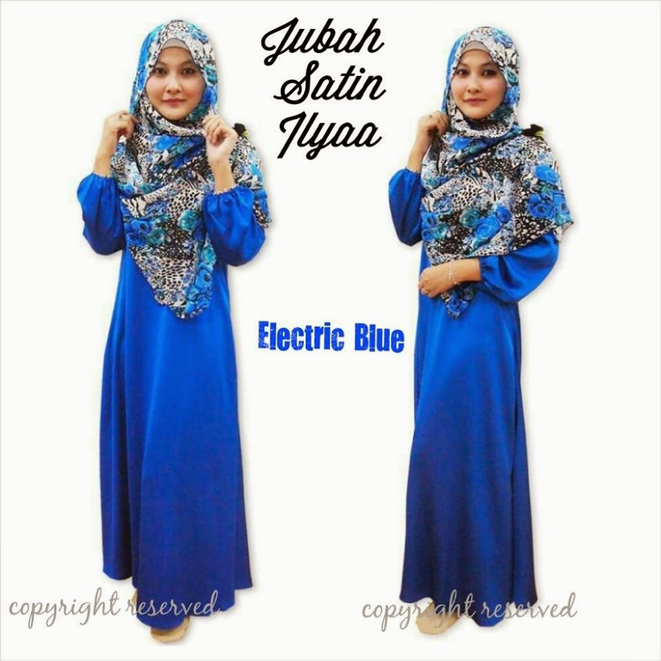 JUBAH SATIN ILYAA FROM RM82 ONLY