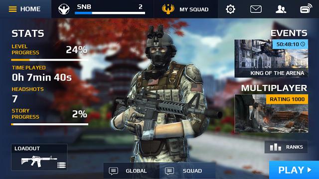 Modern Combat 5 Blackout v1.5.0i APK MOD