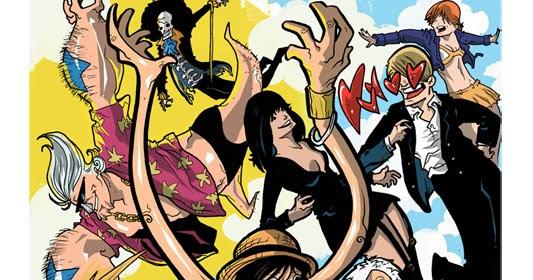 les carnets de Steph: One Piece en couleur