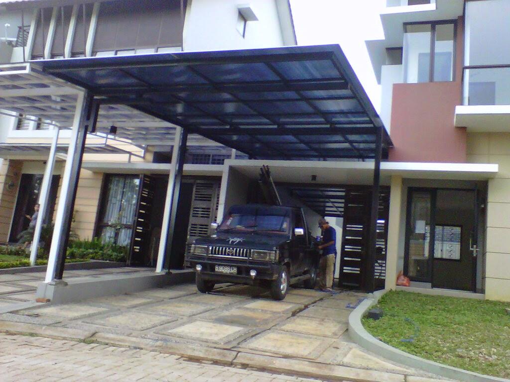contoh kanopi rumah minimalis