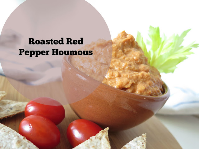 HCLF Vegan red pepper houmous