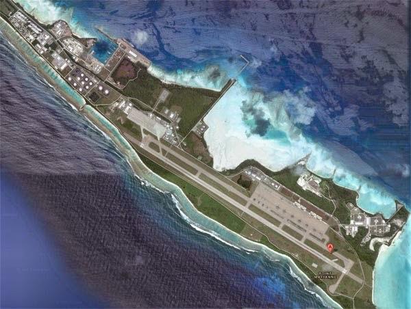 Malaysia Airlines MH370 Mendarat di Diego Garcia?